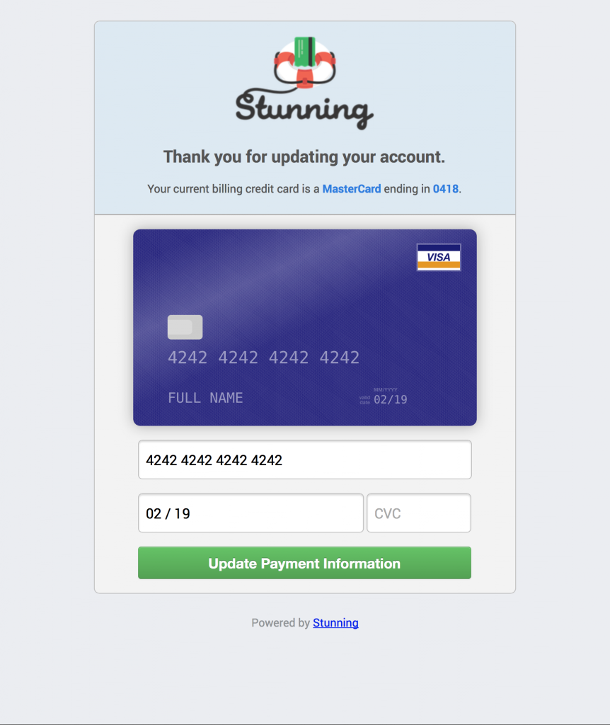 new-payment-page